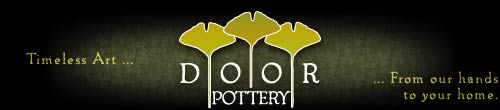 Door Pottery | Arts and Crafts Pottery - Timeless Art... From our hands to your home