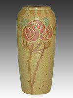 Macintosh Rose Callalily Vase & Door Pottery | Retired Pottery pezcame.com
